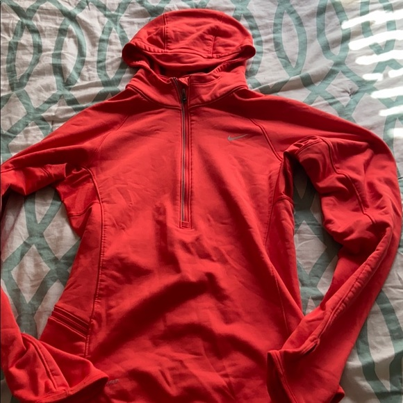 Nike Dri-Fit Hooded Half Zip Pullover, Size XS